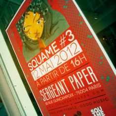 SQUAME #3 in Paris